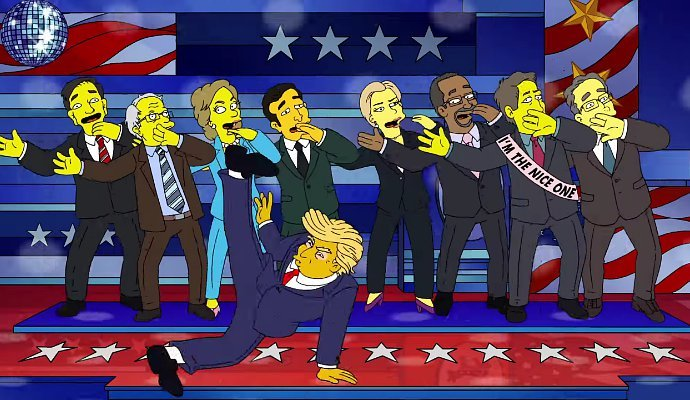donald-trump-hillary-clinton-live-in-peace-in-the-simpsons