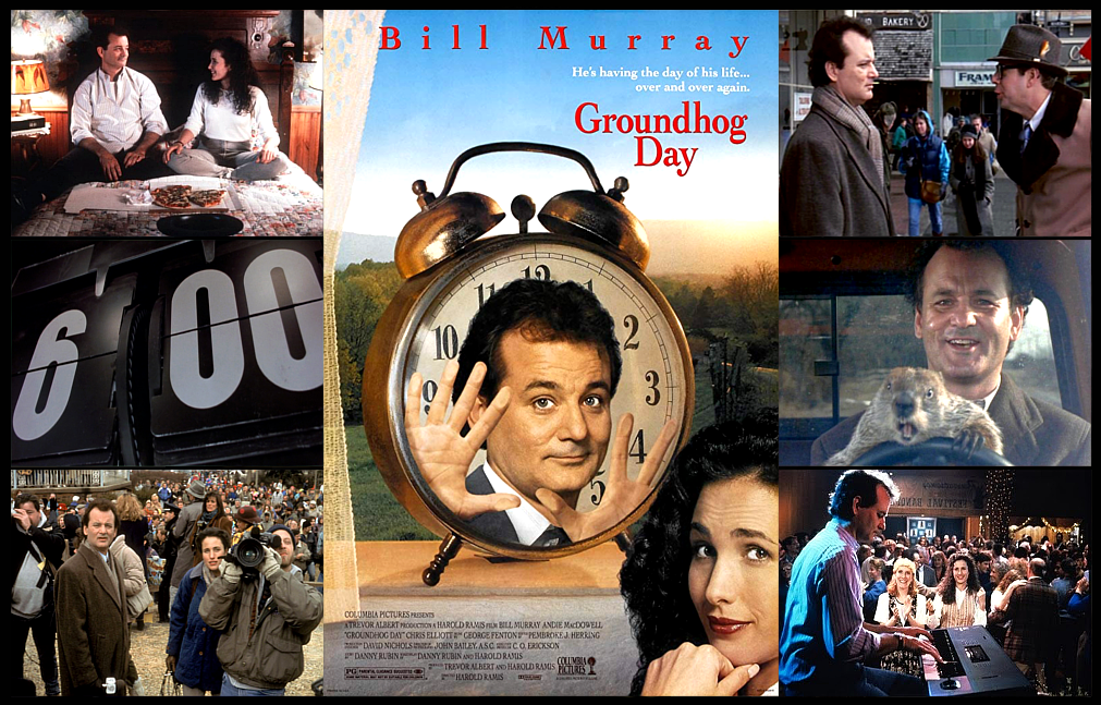 "A FILM TO REMEMBER: ""GROUNDHOG DAY"" (1993) | by Scott Anthony | Medium"