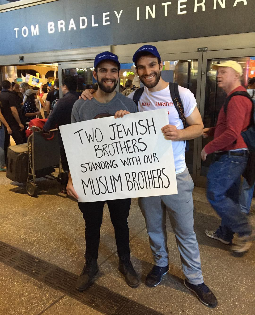 Two Jewish Brothers Standing with Our Muslim Brothers | by Noah Reich | Medium